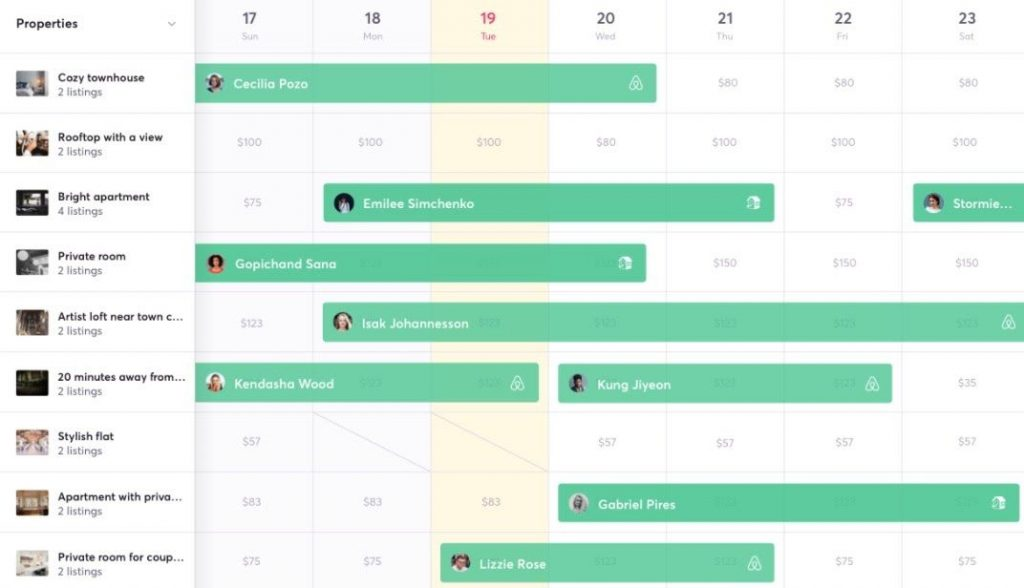 calendar experience