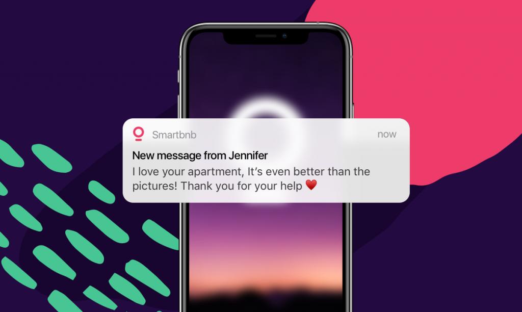 smartbnb app notification