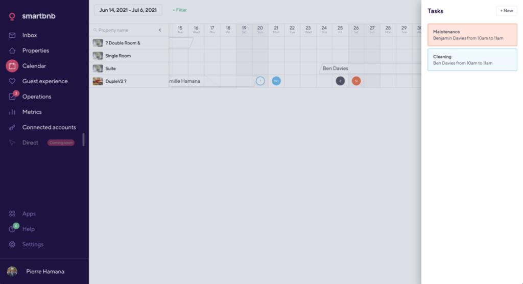 calendar tasks