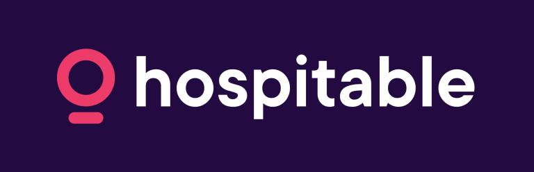 Hospitable Logo purple bg